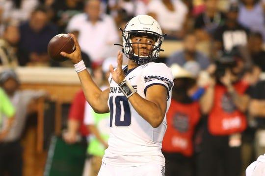 The CSU football team plays star quarterback Jordan Love and Utah State on Saturday in Logan, Utah.