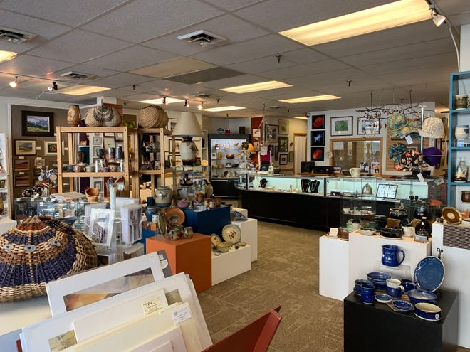 Gallery 16 is an art gallery and gift shop that also hosts workshops and events.