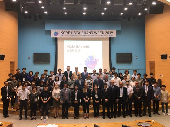 Korea Sea Grant Week 2019, which took place from Aug. 28-30, brought together National Sea Grant programs, including University of Guam Sea Grant, with those in South Korea at the Pohang University of Science and Technology. University of Guam Sea Grant Director Dr. Austin J. Shelton and Program Leader Fran Castro engaged with sister programs on shared environmental challenges and goals toward sustainability.