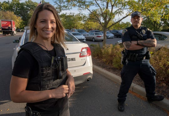 "Jen Rettig — pictured in Lawrence on Sept. 25, 2019 — is a supervising Producer for ""Live PD,"" a nearly real-time reality show that airs on A&E and features Lawrence Police Department officers during their on-duty runs."