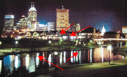Photo of Indianapolis' skyline