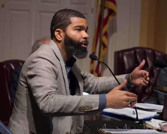 Jackson Mayor Chokwe Antar Lumumba said he disagrees with comments from U.S. Attorney Mike Hurst at a Dec. 23, 2019, press conference, that open carry laws do not make it more difficult to enforce the law.