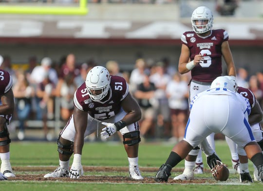 Mississippi State right guard Stewart Reese is prepared to stay poised in a hostile environment at Auburn this weekend.