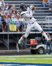 Pinckney's Cam Gaden leads Livingston County with 295 receiving yards.