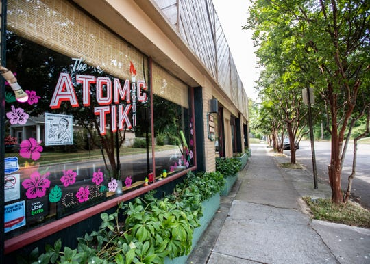 The Atomic Tiki on Overton Park Ave Thursday, Sept. 26, 2019.