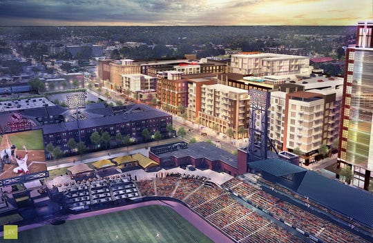 New Union Row renderings show a reimagined Downtown Memphis.