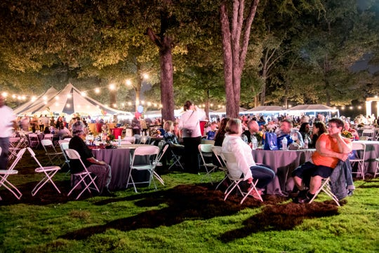 The Memphis Food & Wine Festival will be on Oct. 12 at Memphis Botanic Garden.