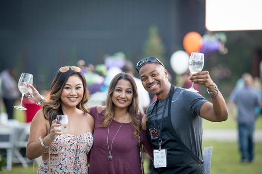 Guests at the 2017 Memphis Food & Wine Festival.  The 2019 event will be on Oct. 12.