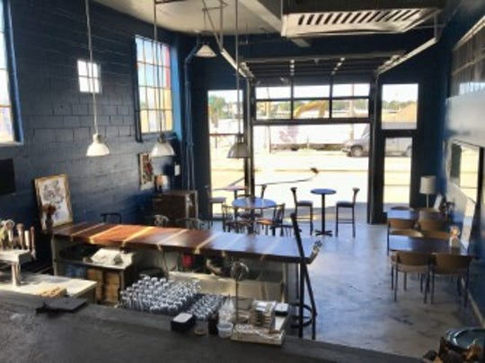 Enlightened Brewing turned its former brewery into The Wood Violet Taproom.