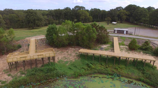 Renovations to Bussey Brake Wildlife Management Area renovations are almost complete.