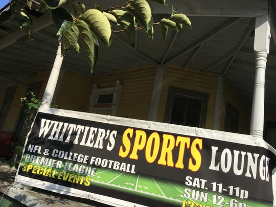 Whittier's Sports Lounge is already welcoming guests while renovations continue inside.