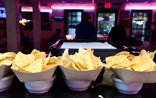 Queso and chips are the most popular dish at San Antonio Taco Co.