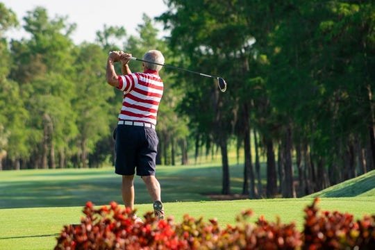 Designed by P.B. Dye, this 18-hole golf course offers a distinctly different experience than surrounding courses in Naples.