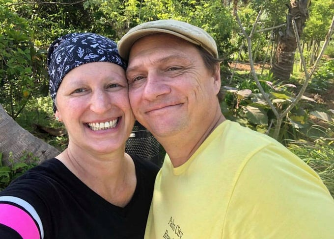 Holly DiGilarmo has documented her battle with stage two breast cancer since she was diagnosed in June of 2018.