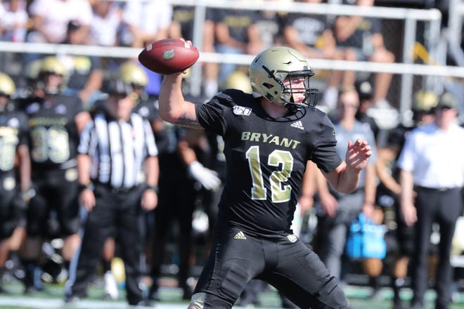 Island Coast graduate Kory Curtis set the single-game passing record at FCS school Bryant in his first collegiate start Saturday. Curtis threw for 394 yards in a 35-30 loss to Brown.