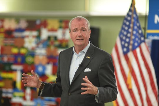 Gov. Phil Murphy holds a town hall in Teaneck on Wednesday, Sept. 25, 2019.