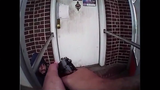 Newly released footage shows the moments before a gun battle between police and the Elizabeth man who planted two bombs in New Jersey and New York.
