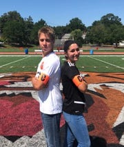 Ryan (left) and Alexa Weiss are twin siblings and co-captains of the Tenafly boys and girls soccer teams.