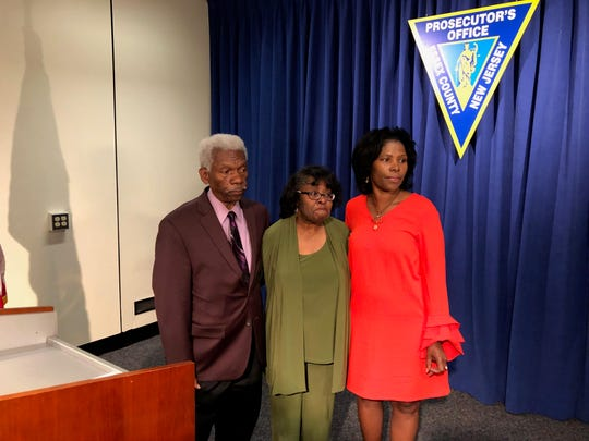 Angela Bledsoe's parents, Ray and Gayelle, and her sister Lisa LaBoo were at the Sept. 25 hearing in Newark in the case of James Ray III.