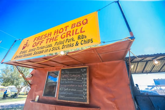 My Daddy's BBQ food truck is pictured at the Southern New Mexico State Fair & Rodeo in Las Cruces on Thursday, Sept. 26, 2019.