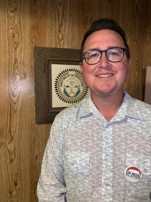 Carl Roessel Slater was elected on Sept. 24 to fill a vacant seat on the Navajo Nation Council.