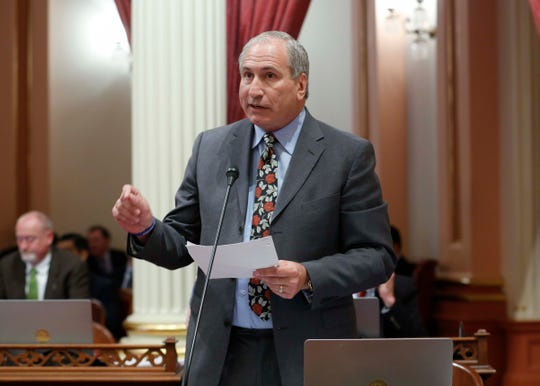 "State Sen. Jeff Stone, a Republican representing Riverside County, argued against the Legislature's extension of Medi-Cal eligibility to young undocumented adults, saying the the state ""is willing to write a blank check for anyone who wants to be here."""