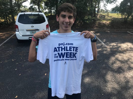 Pace junior cross country runner Francisco Ramirez won PNJ Athlete of the Week for the Sept. 15-21 voting period for his school-record win at the Wildcat Invitational.