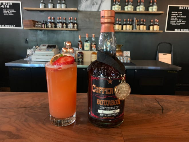Copper City Bourbon finished in Arizona Cabernet wine casks is the newest release from Arizona Distilling Company.