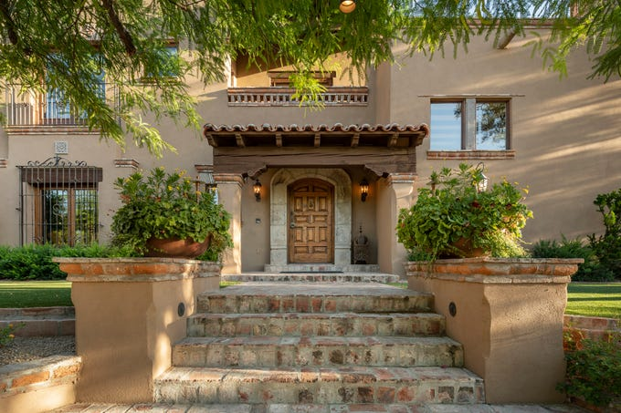 Alessandro Cusano paid $2.75 million for this Spanish-style estate in Paradise Valley.