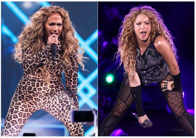 Jennifer López y Shakira pondrán el ambiente en el show de Medio Tiempo del SuperBowl.
