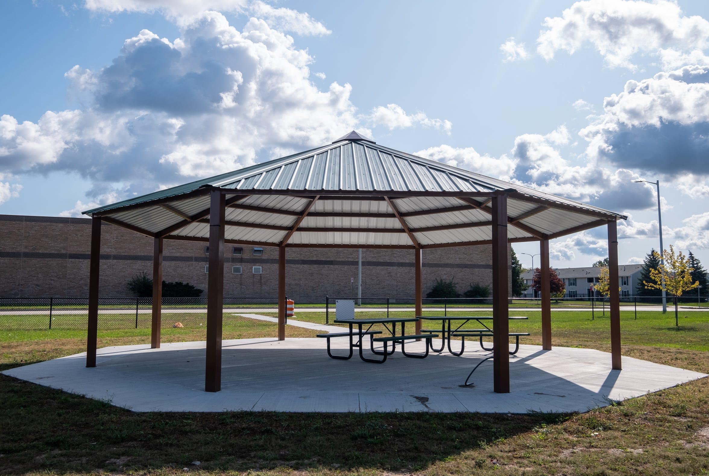 Through the 1-mill tax approved by voters in 2017, the city was able to build a pavilion at Knox Field, in addition to maintenance and repairs at other facilities.