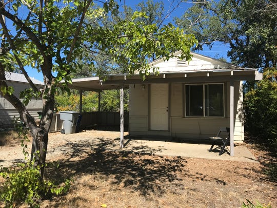 The house in north Redding where Randall Scott Johnson was arrested in August 2018. He was taken to the Shasta County Jail, where he died two days later.