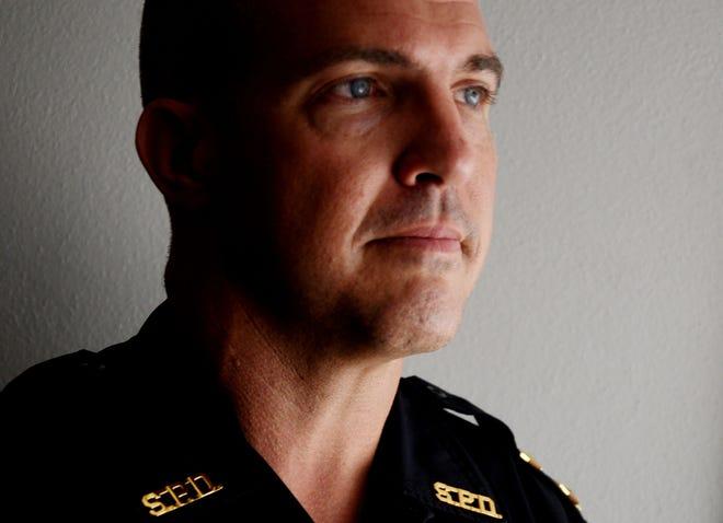 Shreveport police chief Ben Raymond.