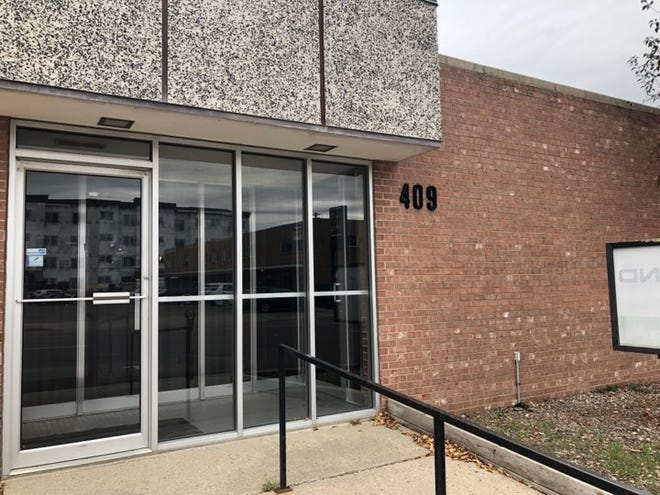 The outside of the building at 409 S. Second Ave. that will house Game Chest, a Sioux Falls board game retailer.