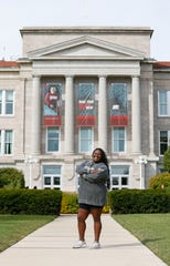 Trenell Morgan, 21, from Miami, Florida, is a first generation college student enrolled at Missouri State.