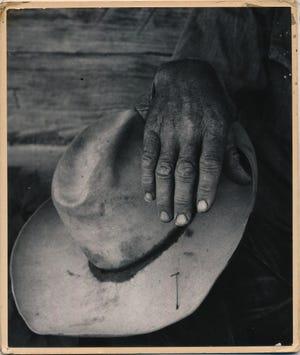 Dorothea Lange, Jake Jones Hat, Gunlock, Utah, 1953.
