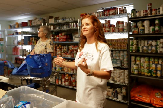 Rachal Smoker, founder of Rachal's Recovery Relief, shares how she helps with recovery efforts in her community of Panama City, Fla. Smoker helps run a food pantry that provides meals for families who are still struggling to provide for themselves since Hurricane Michael hit in Oct. 2018.