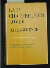 "This copy of ""Lady Chatterley's Lover"" is in the FSU Libraries Special Collections."