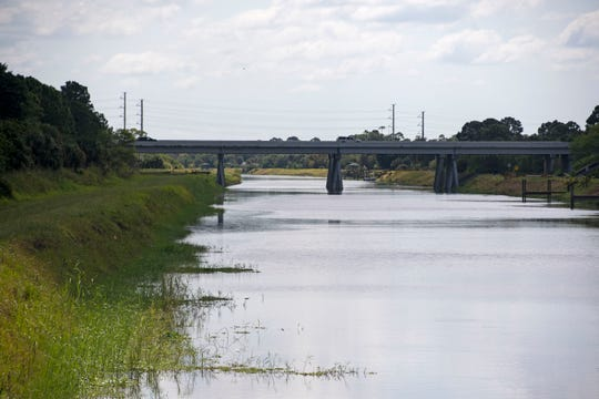 The C-24 Canal in Port St. Lucie.