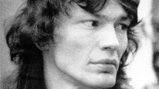 Richard Ramirez, the mass murderer convicted of 13 slayings in Los Angeles.  July 24, 1991 photo