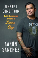 "Chef Aarón Sánchez has penned a new book, "" Where I Come From,"" to be released Oct. 1."
