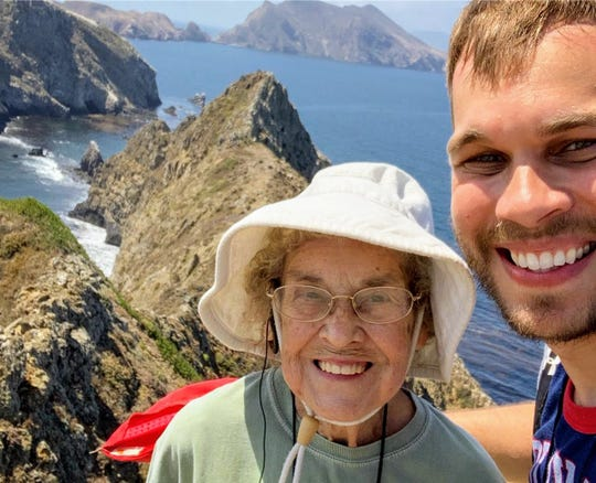 Living in Duncan Falls, Ohio, all her life, 89-year-old Joy Ryan had never been to a national park or even seen mountains. Her grandson brought her to Ventura this month on his quest to show her every national park in America.