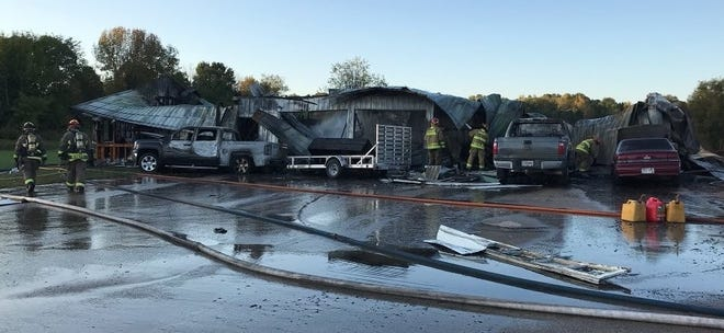 One person died and three were injured after a house exploded on Verg Road in Shawano County.