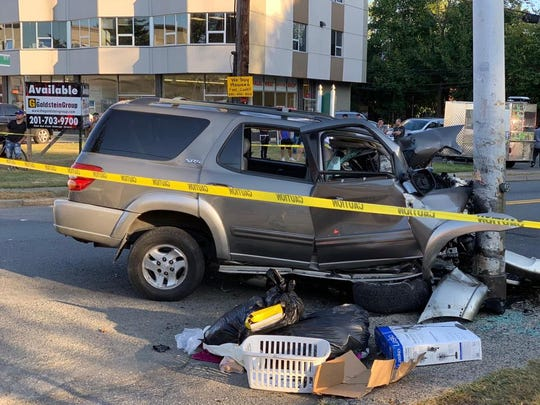 A driver was seriously injured in a crash on Route 45 in Hillcrest on Sept. 25, 2019.