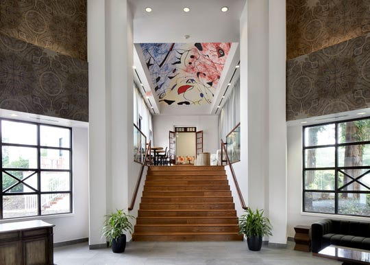 A view of Tarrytown House Estate's lobby which has been fully redesigned as part of a $15 million redesign.