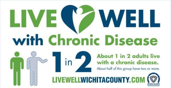 Live Well with Chronic Disease programs are at the Wichita Falls Wichita County Health District.