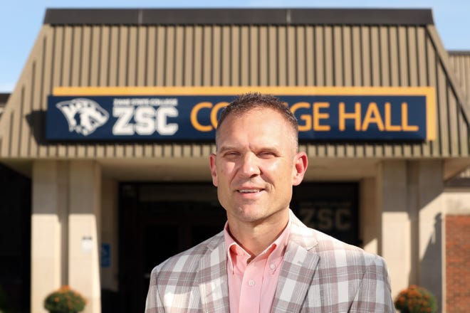 Chad Brown, President of Zane State College