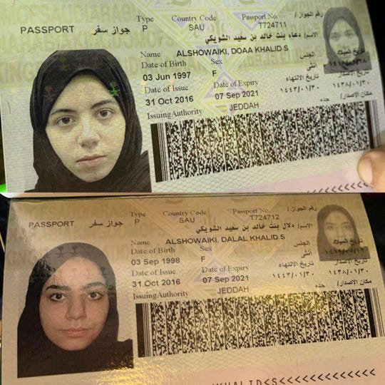 The al-Showaiki applied for refugee status.