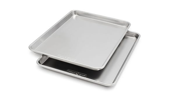 Upgrade your cookie sheets with this ultra-durable set.