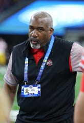 Ohio State Buckeyes athletic director Gene Smith in 2017.